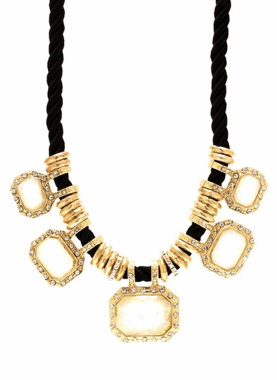 Super Stoned Necklace Set