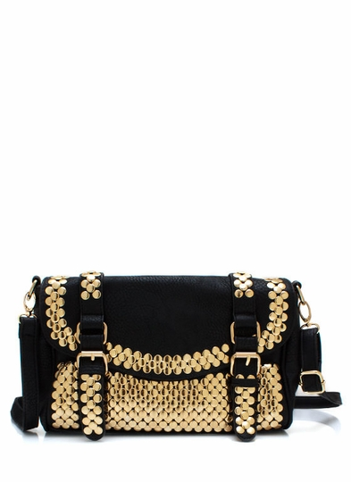 Super Stud-Ly Buckle Bag