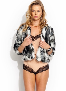 Svelte Pelt Faux Fur Jacket
