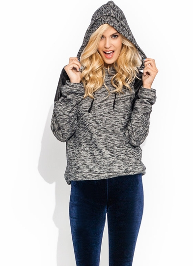 Sweat It Out Quilted Hoodie