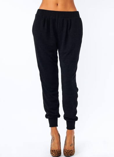 Sweater Weather Knit Joggers