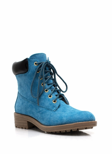 Take A Hike Lace-Up Boots