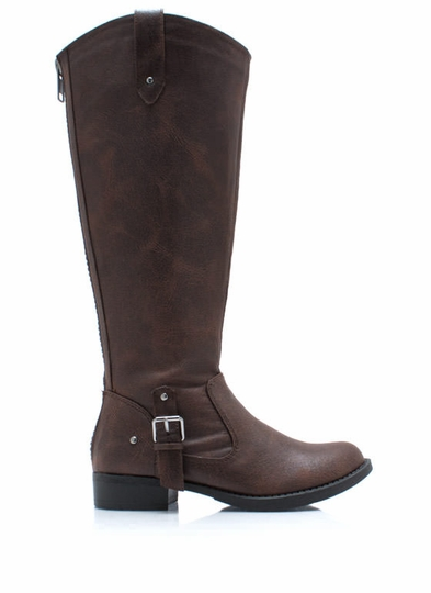 Tall For One Zip-Back Boots