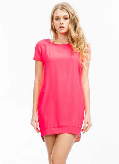 Techno Savvy Shift Dress