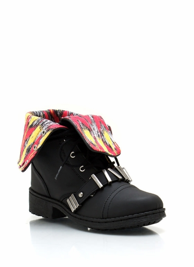 Teen Spirit Lace-Up Combat Boots