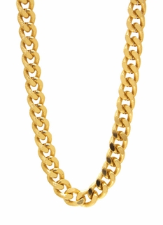 Textured Chain Necklace Set