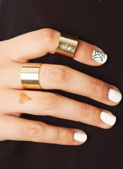Textured Ring Duo