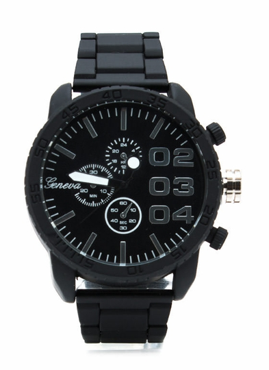 The Big Time Silicone Watch