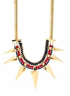 The Gempire Spikes Back Necklace