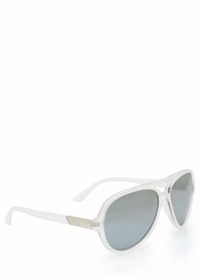 Third Eye Open Aviator Sunglasses