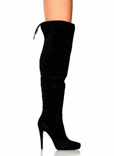 Tie It Up Over-The-Knee Boots