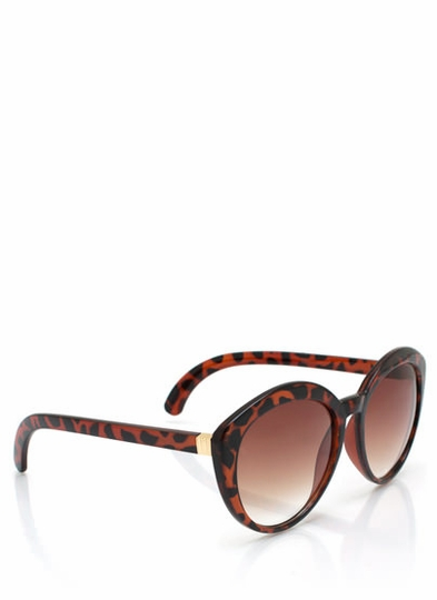 Top Heavy Flare Frame Sunglasses
