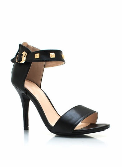 Total Stud Strappy Heels