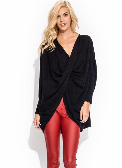 Totally Twisted Dolman Sweater