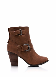 Tough Chick Buckle Boots