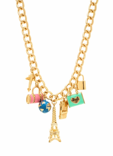Traveling In Style Necklace Set
