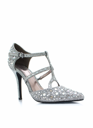 Treasure Trove Metallic Heels