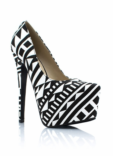 Triangulated Platform Pumps