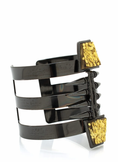 Tribal Cut-Out Cuff