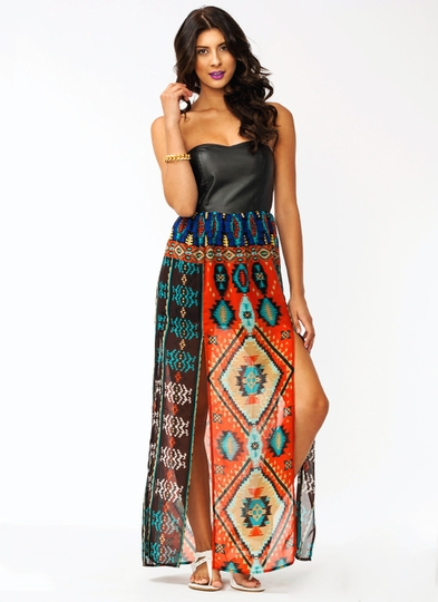 Tribal Sweetheart Dress