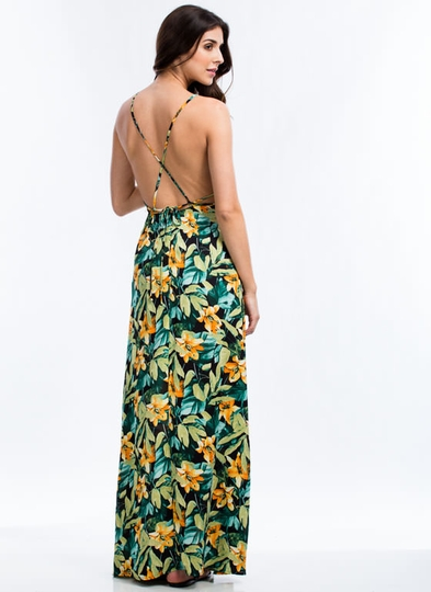 Tropical Daze Maxi Dress