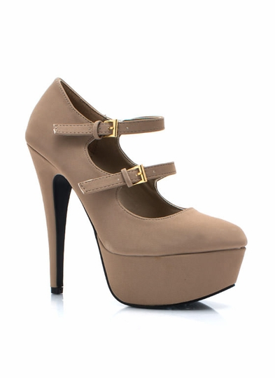 Two To Tango Platform Pumps