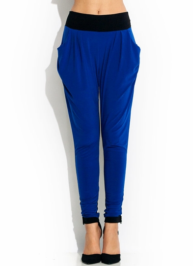 Two Tone Harem Pants
