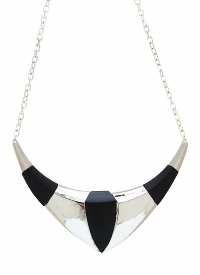 Two-Tone Necklace Set