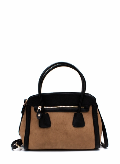 Two-Tone Up Handbag