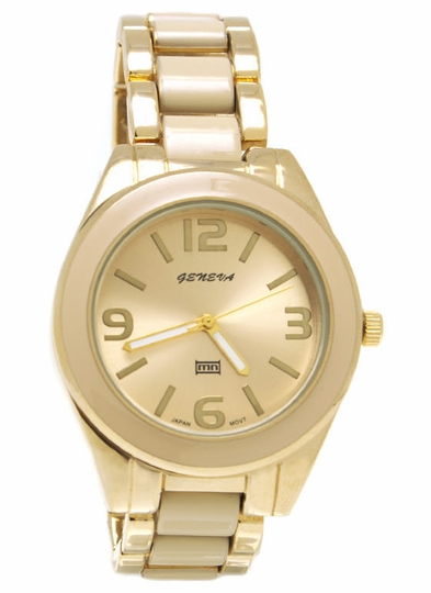 Two-Tone Up Watch