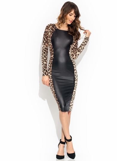 Untamed Leopard Dress