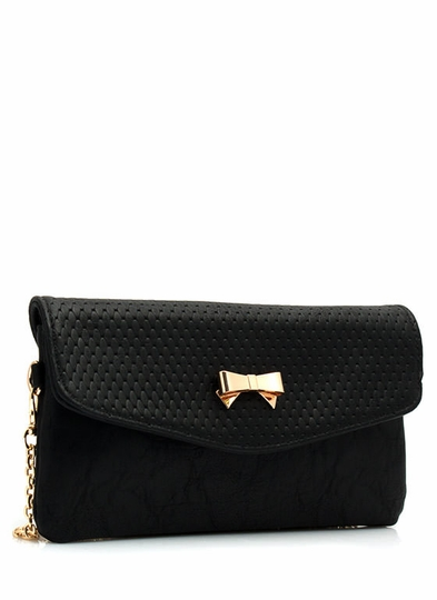 Up-Scale Bow Clutch