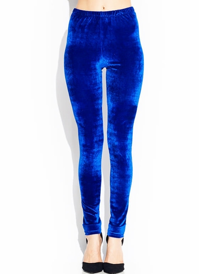 Velvet Dreams Shiny Leggings