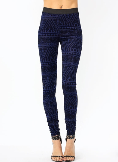 Velvet Empire Printed Leggings