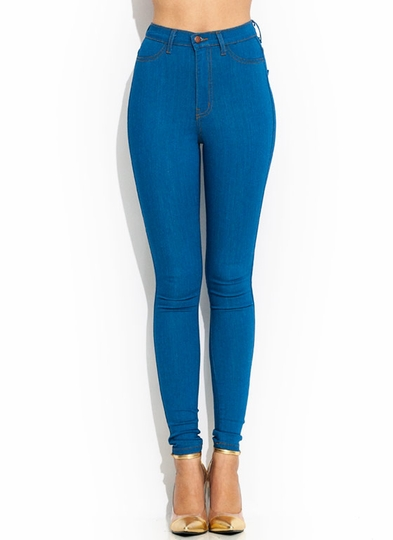 Vintage High-Waisted Skinnies