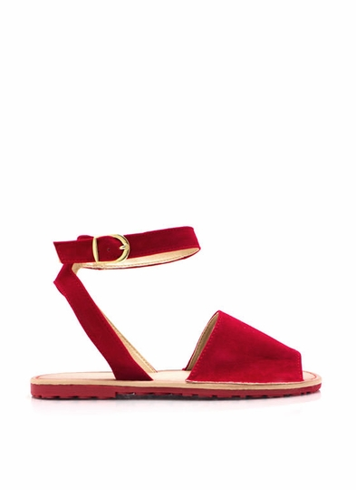 Wanderlust Faux Suede Band Sandals