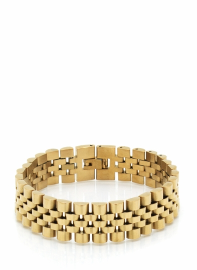 Watch This Link Bracelet