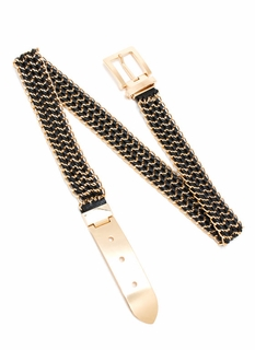 Weave Your Mark Chain Belt