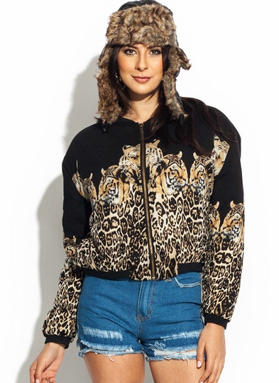 Animal Magnetism Bomber Jacket