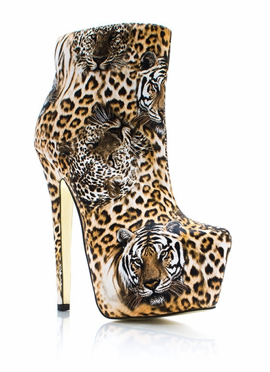 Wild Cat Safari Booties
