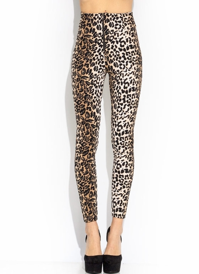 Wild Factor High-Waisted Pants