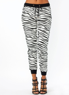 Wild Safari Zebra Sweats