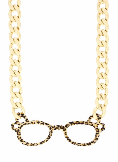 Wild Thang Glasses Necklace