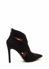 Wrap Star Strappy Cut-Out Heels