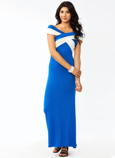 X Marks The Spot Maxi Dress