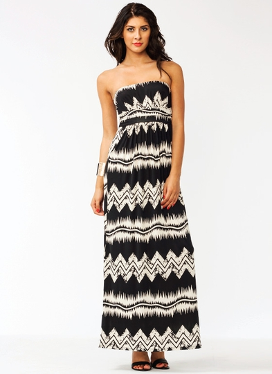 Ziggy Zag Maxi Dress
