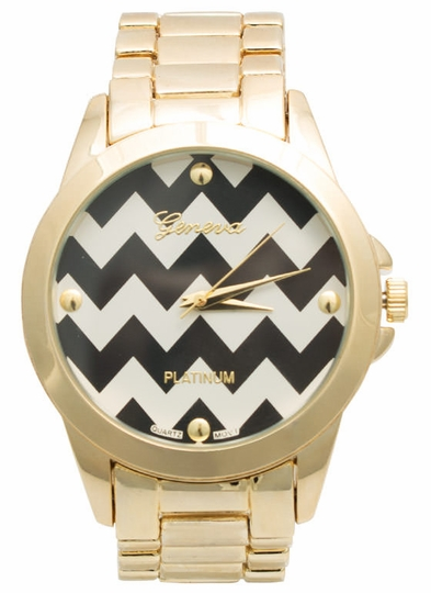 Zigzag Face Boyfriend Watch