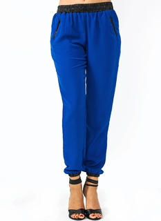 Zip Along Pocketed Track Pants
