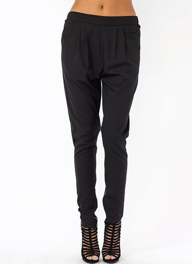 Zip Into Shape Zippered Inseam Pants