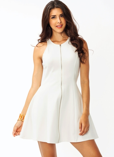 Zip It Flare Dress